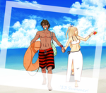 [Collab HaruApo] Hollidays #Part2 by Lola-Aiko