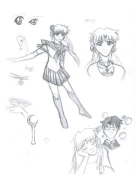An Interpation of Sailor Moon by Starstoryteller