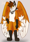 Kitsune commission #2 by TropicaIDeer