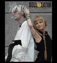 SOUL EATER: Medusa and Stein by asuKai
