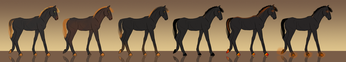 Foal designs for Valerie5 by Catiza