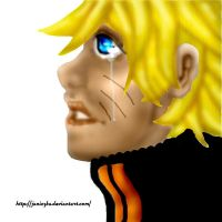 Naruto - alone in his minds by Janiczka