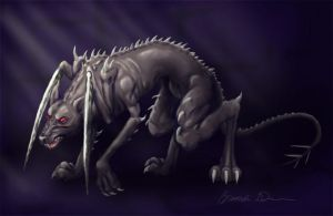 Hellhound Revisited by bdunn1342