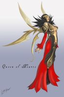 Wonderland - Queen of Hearts by angelwingkitty