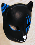 custom Itachi's ANBU mask (blue ver.) | COMMISSION by MajorasMasks