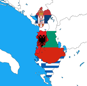 The Real Albania by WorldMapper