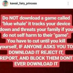 NEVER DOWNLOAD THIS GAME KIDDOS by Perma-Fox
