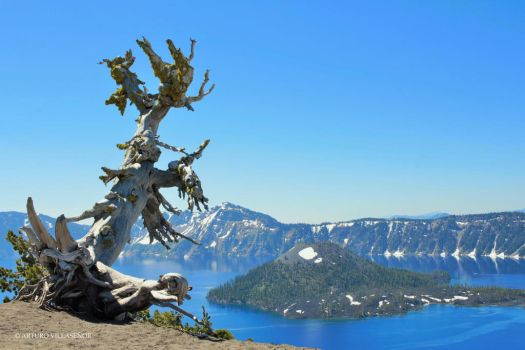 Crater Lake 002 by perseo1965