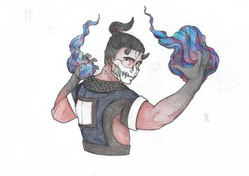 DnD Character : Lucius by alchemy-ring