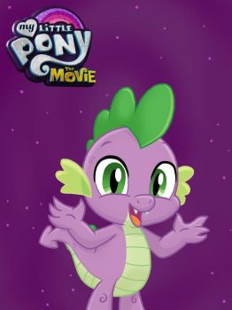 My Little Pony: the Movie Spike by JustSomePainter11