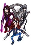 Three X-Men Characters by SonicClone