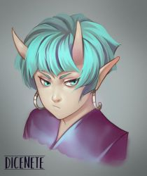 unnamed rendered character by Dicenete