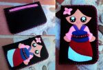 Portacellulare Mulan by NeveRoHandmade
