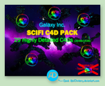 Galaxy Inc. - Sci-Fi C4D Pack by AlexDonkers