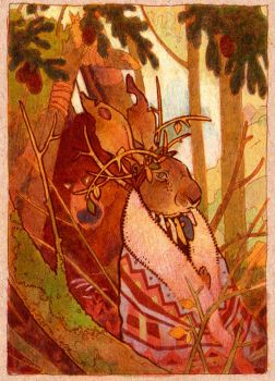work in progress hare and bear by luve