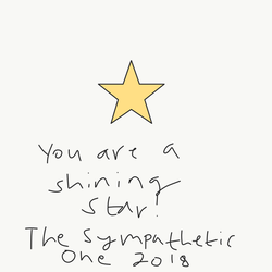 Youre a shining star! by TheSympatheticOne