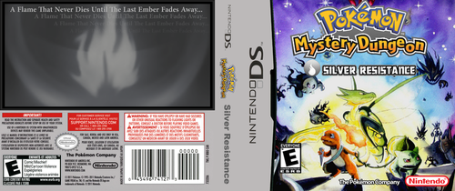 Nintendo DS - PMD: Silver Resistance Cover by XD-MADNESS