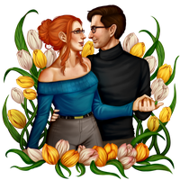 Roderick and Theresa - Commission by AnnettaSassi
