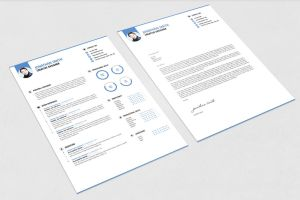 Clean and Minimal Resume Template by maruf1