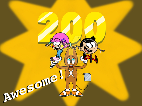 Reached Over 200 Watchers!!! by ArtIsMyMarc