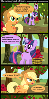 the wrong kind of fruit by Coltsteelstallion
