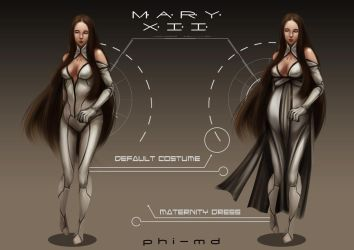 Mary XII Concept by Phi-MD