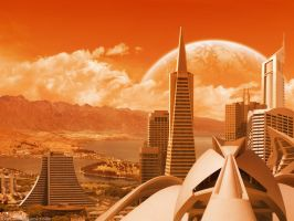 Cities of the future XXI by Funerium