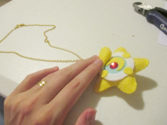 Sailor Moon's Star Locket Necklace by behappy1990