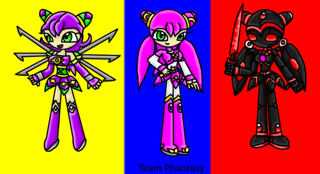 Team Phantasy by xLunarSurgex