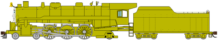 My Trainsona BRASS EDITION by TheReadingG3