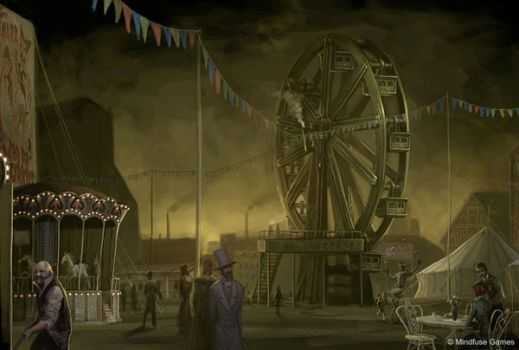 Creepy Carnival by Concept-Art-House