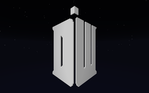 Doctor Who Logo in Minecraft by Ictoan12