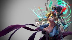League of Legends - Lotus Karma Wallpaper by Soinnes
