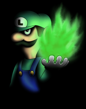 ~Fire Lord Luigi~ by CyberTheHedgehog270