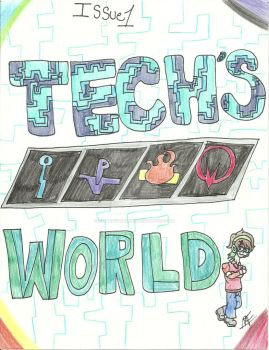 Tech's World cover by LightingAshley25