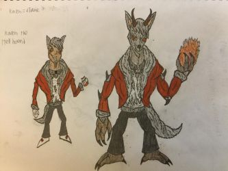 Kean the Hell Hound by Doctoreye