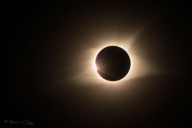 .:Near Totality 2017 Eclipse:. by RHCheng