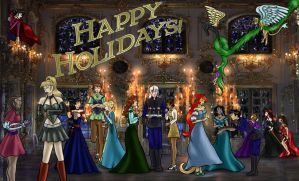 2014 OC Holiday Party by dragondoodle