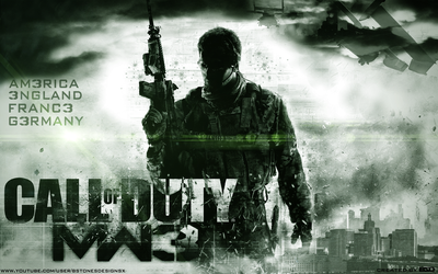 Etg311 7 1 Call Of Duty MW3 Wallpaper By BstonesDesigns