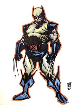 wolvie in color by BChing