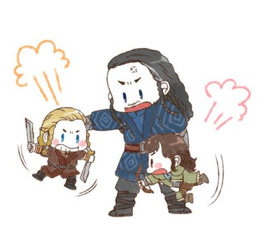 [HOBBIT] Fili Kili and Thorin by twosugars16