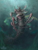king_of_the_depths by CoreMort