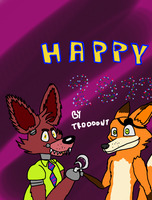 Happy new year by troodont by SarahTheFox97