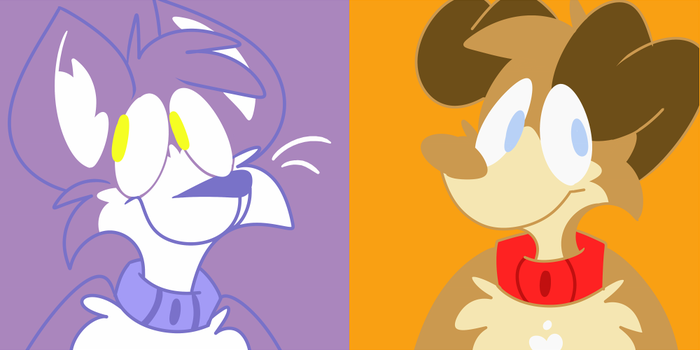 Grape and Peanut icons (old) by TheManaWolf