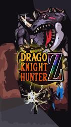 Drago Knight Hunter Z Gashat Art by VexylGraphics