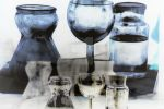 Glass Refraction Reflection by Colin-Bentham