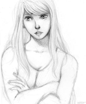 Winry Sketch by cupcakeninja11