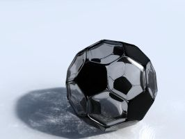 Crystal Soccer Ball by BarberofCivil