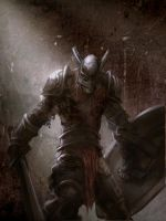Fallen knight by mattforsyth