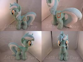 MLP Lyra Heartstrings Plush by Little-Broy-Peep
